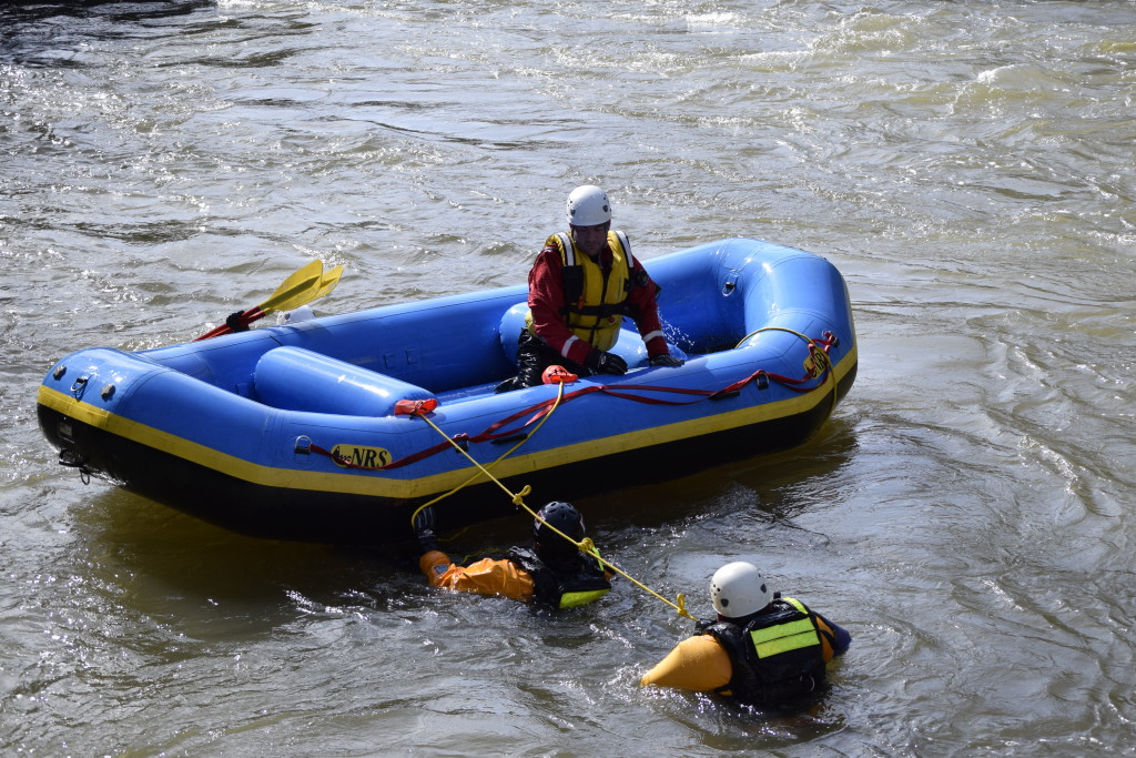 Cabell County DIRT Team - Swift Water Rescue training - Cabell